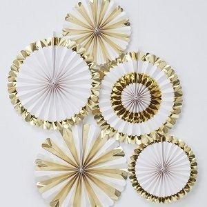 anniversaire-blanc-et-or-rosaces