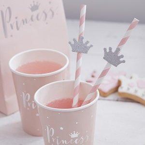 anniversaire-fille-theme-princesse-argent-deco-de-table-pailles-couronnes-princesse