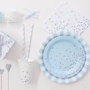 anniversaire-fille-theme-reine-des-neiges-deco-de-table-bleu-argent