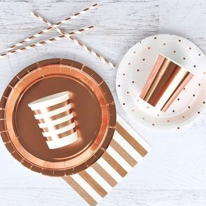 anniversaire-fille-theme-rose-gold-deco-de-table-rose-gold
