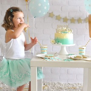 anniversaire-fille-theme-sirene-decoration-gateau-sirene