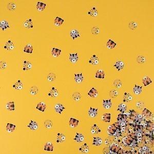 accessoires-deco-table-anniversaire-garcon-confettis-de-table-animaux-de-la-jungle