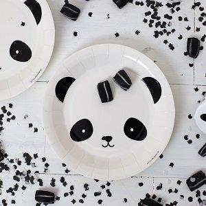 decoration-anniversaire-1 an-assiettes-panda