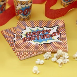 decoration-de-table-anniversaire-garcon-theme-super-heros-serviettes