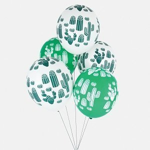 anniversaire-garcon-theme-indien-ballons-cactus