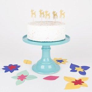 anniversaire-garcon-theme-petit-faon-bougies