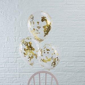 ballons-bapteme-avec-confettis-dores-decoration-bapteme
