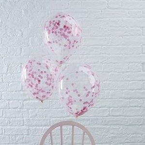 ballons-bapteme-avec-confettis-roses-decoration-bapteme
