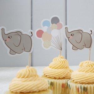 cake-toppers-piques-gateaux-bapteme-decoration-gateau-bapteme-piques-petit-elephant