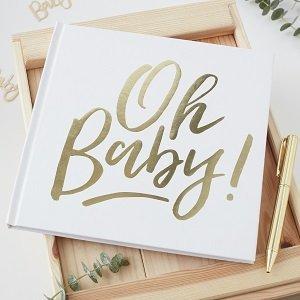 livre-d-or-bapteme-fille-garcon-original-livre-d-or-oh-baby-blanc-or
