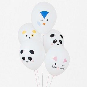 bapteme-animaux-kawai-ballons-chat-chien-pingouin-panda