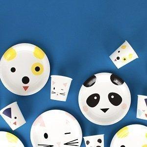 bapteme-animaux-kawai-panda-chien-chat-assiettes