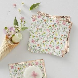 mariage-theme-fleurs-bohemes-serviettes