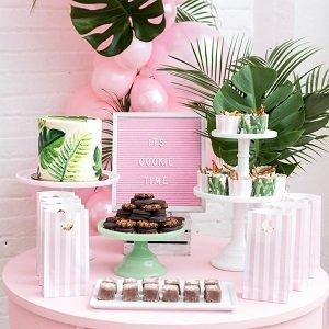 mariage-tropical-chic-buffet