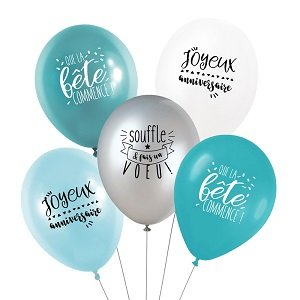 anniversaire-garcon-theme-bleu-argent-ballons