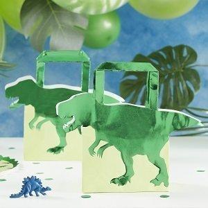anniversaire-theme-dinosaures-sacs-cadeaux-invites-dinosaures