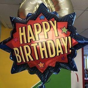 anniversaire-theme-super-heros-ballons