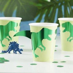 anniversaire-garcon-theme-dinosaures-gobelets